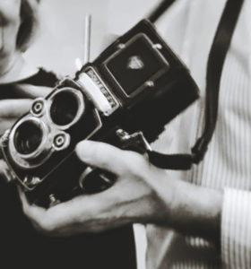 Rolleiflex film camera image